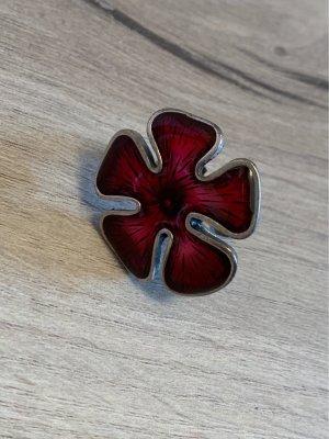 Ring Blume rot Statementring