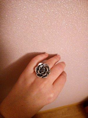 Pierścionek srebrny Metal