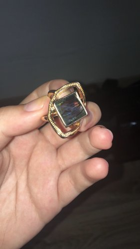Avon Gold Ring multicolored