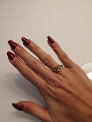 Ring I am goldfarben