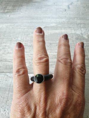 Ring Kautschuk mit Stein