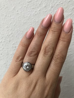 Manguun Silver Ring silver-colored