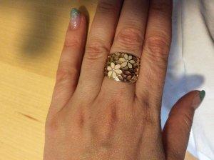 I am Gouden ring veelkleurig