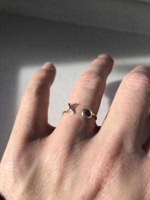 Ring mit grafischen Elementen - 925 silber!