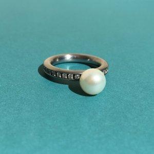 Anello di fidanzamento argento Metallo