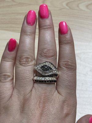 Bijou Brigitte Statement ring zwart