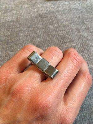 Ring mit Schleife / Silber Farben Größe M