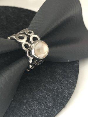 qudo Srebrny pierścionek srebrny