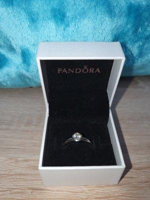 Pandora Silver Ring silver-colored mixture fibre