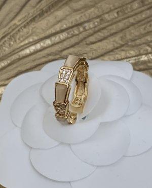 Ring neu ungetragen 1,6cm Innen-Durchmesser gold Strass