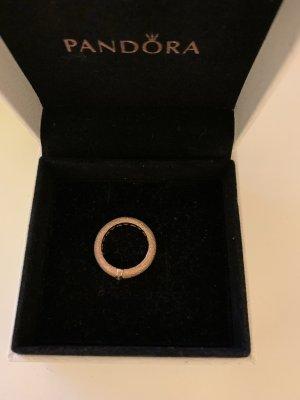 Pandora Bague incrustée de pierres or rose