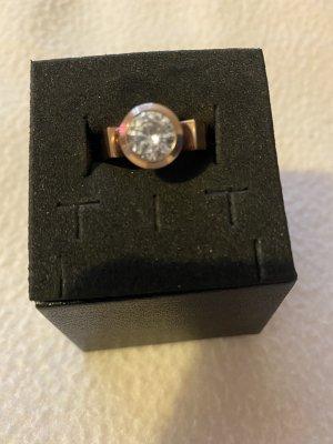 Christ Gouden ring roségoud