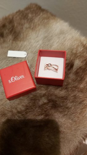 s.Oliver Gold Ring silver-colored-rose-gold-coloured