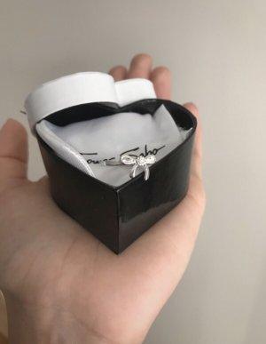Ring Schleife mit Diamant