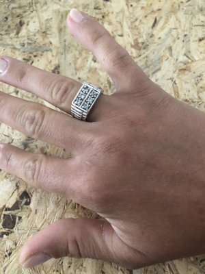 Ring Silber 925 Größe 56