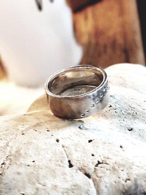 Ring Silber mit Brillis