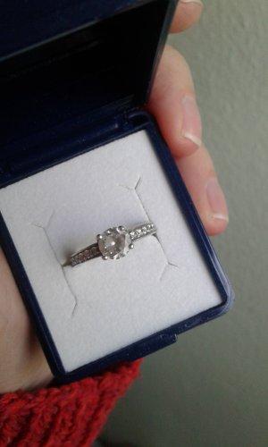 Ring Silber Zirkoniasteine Viventy