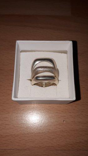 Ring Sterling Silber 925 3 Fach