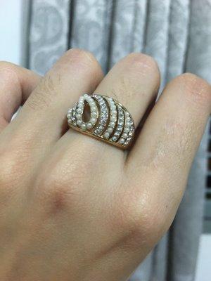 Gold Ring natural white-white