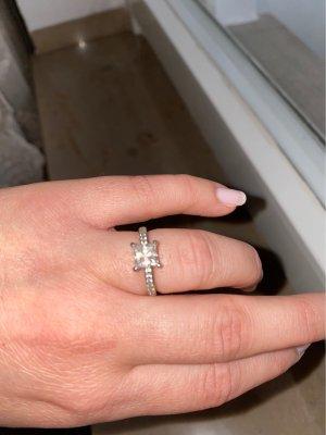 Swarovski Statement Ring silver-colored
