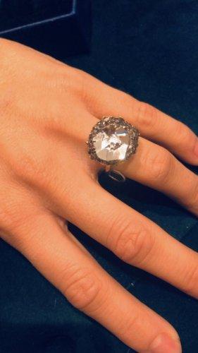 Swarovski Anello di fidanzamento oro Vetro