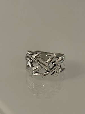 ring tribal in silber 18 mm