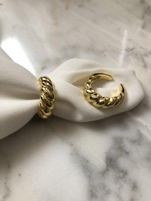 925 Anello d'oro oro