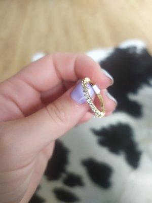 Ring vergoldet 18K Gr. 8 / 18,1mm neu