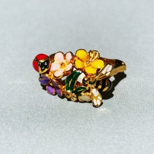 Bill Skinner Złoty pierścionek złoto