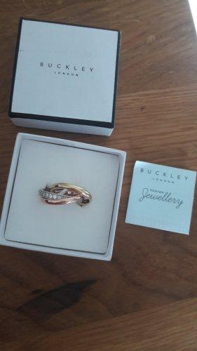 Gouden ring zilver-goud