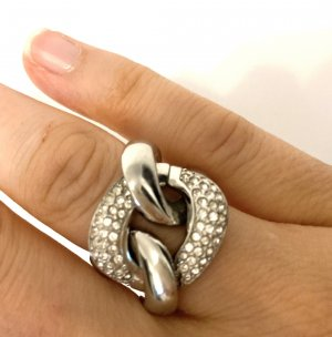 DKNY Statement ring zilver