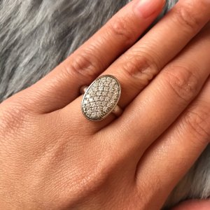 Fossil Anello d'argento argento Argento
