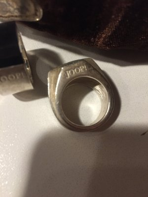 Joop! Silver Ring silver-colored