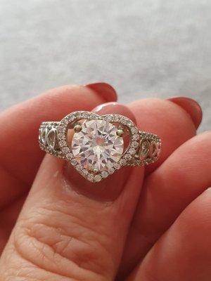 Lawrence Grey Anello di fidanzamento argento