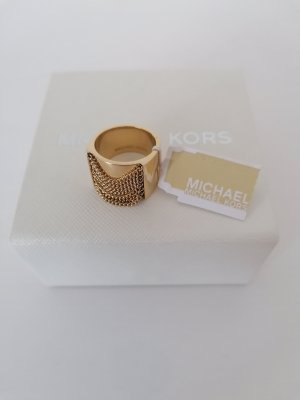Michael Kors Statement Ring gold-colored