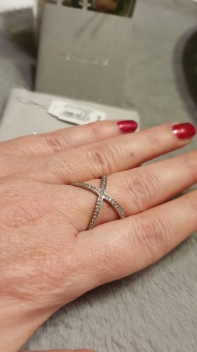 Ring von Michael Kors silber Gr. 56 - Weihnachtspreis - 40 € statt 55 €