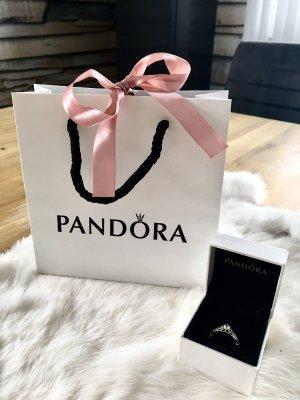 Pandora Zilveren ring wit-zilver