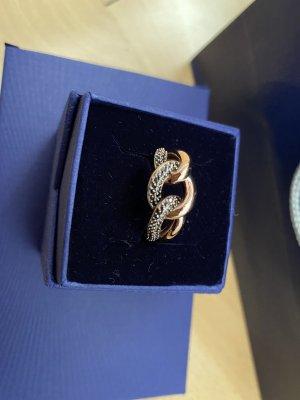 Swarovski Złoty pierścionek złoto