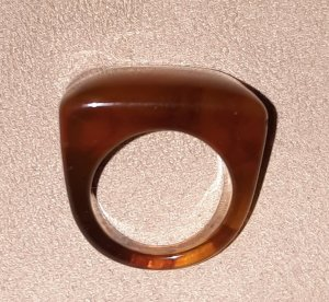 H&M Statement Ring camel
