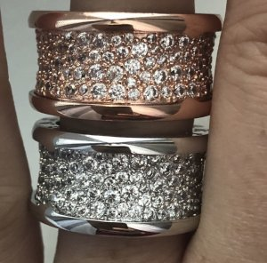 Ringe aus Titan NEU mit Verpackung
