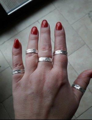 Ringe echt Silber 5 Stück