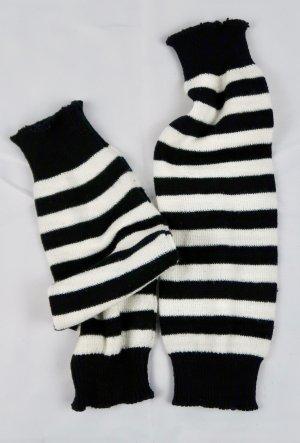 H&M Manchetten zwart-wit