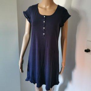 Ringella Damen Nachthemd mit Knopfleiste Volant Größe 38