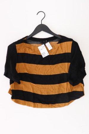 T-shirt rayé multicolore viscose