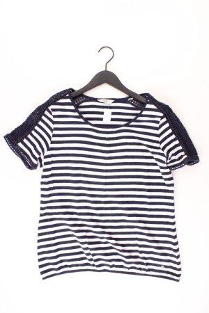 Koszulka w paski niebieski-niebieski neonowy-ciemnoniebieski-błękitny Bawełna