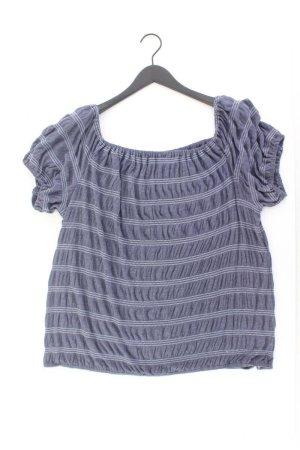 T-shirt rayé bleu-bleu fluo-bleu foncé-bleu azur