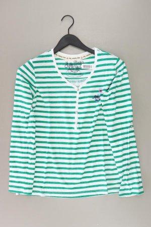 Gestreept shirt groen-neon groen-munt-weidegroen-grasgroen-bos Groen