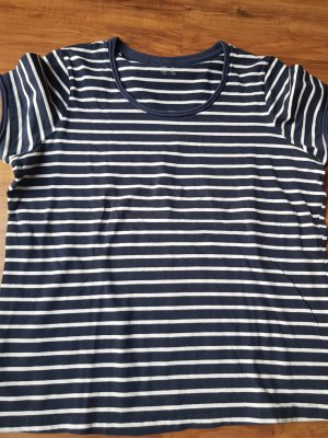 Esmara Stripe Shirt white-dark blue