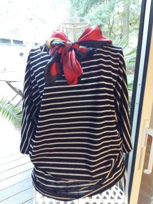 Olsen Stripe Shirt white-black