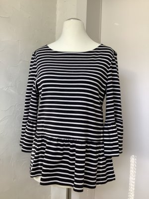Stripe Shirt black-white